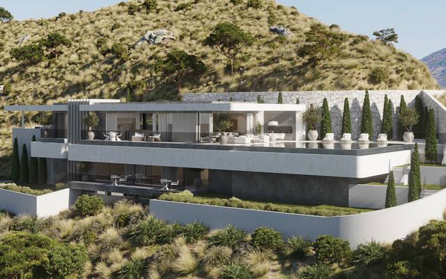 "Villas """"Vista Lago Residences"" - Real de La Quinta"" Real La Quinta, Benahavis"