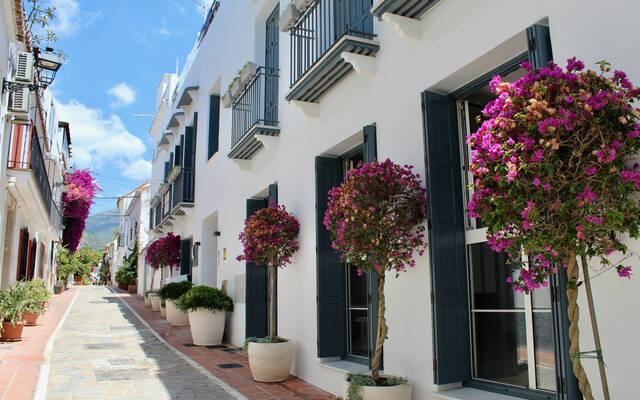 """Apartments """"""""CASONA 6 LUNAS"""" - Marbella City Center"""" Calle Lobatas, Marbella"""