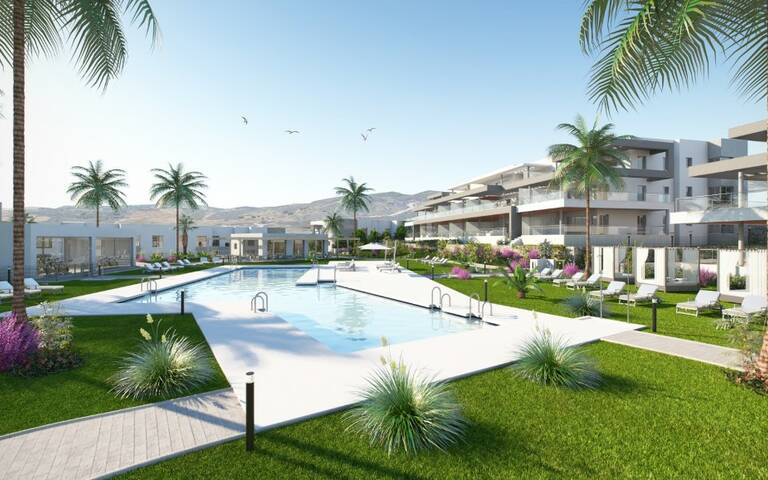 Appartement de luxe à vendre à Estepona