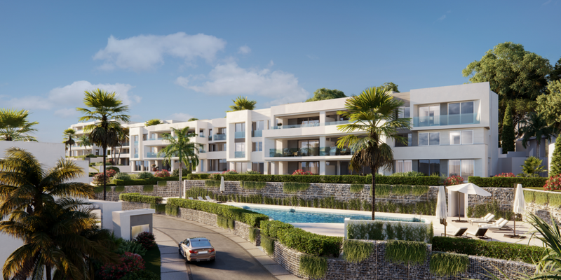 Image of new development project